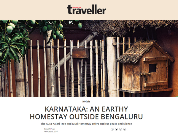 Aura Kalari Got a Mention in Outlook Traveller