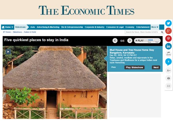 Aura Kalari - Mentioned in Economic Times