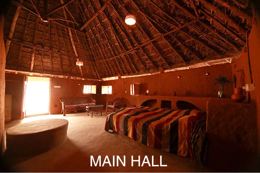 Aura Kalari's main hall