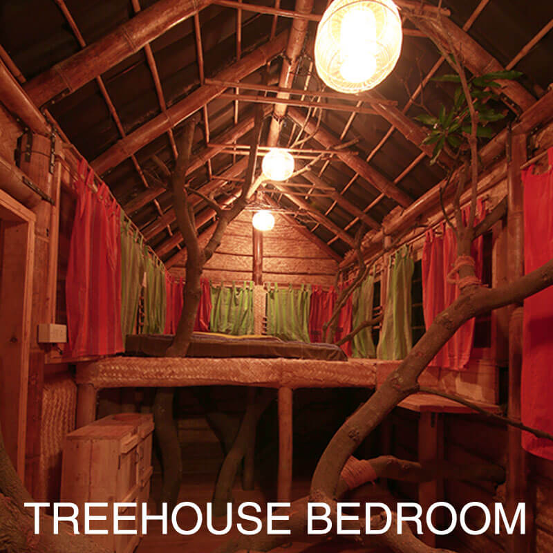 Treehouse Bedroom at Aura Kalari